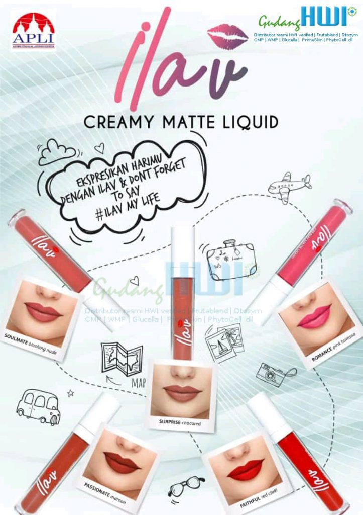ILAV LIP CREAM HWI